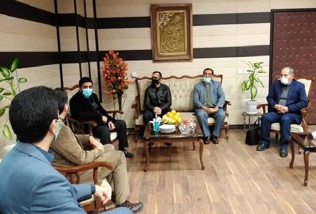 رئیس فدراسیون کشتی به استان سمنان سفر کرد