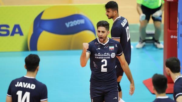 عملکرد پیروز مربیان ایرانی در روز اول رقابت های والیبال قهرمانی آسیا