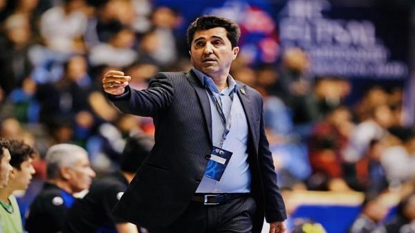 ناظم الشریعه: استراتژی ما در جام جهانی فوتسال خیلی خوب بود